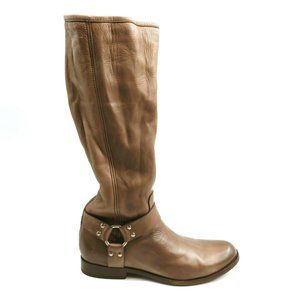 Frye Phillip Harness Tall Leather Riding Boots 9